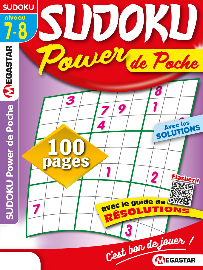 Solutions Sudoku Power de Poche n°30
