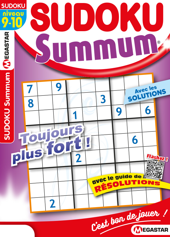 Solutions Sudoku Summun n°51